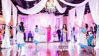 Ria & Saifur's Engagement | Choreographed Bollywood Dance Performances