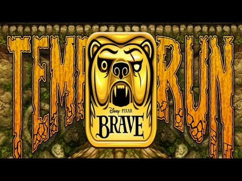 Temple Run: Brave iPhone/iPad Gameplay (Universal App),