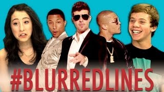 Teens React to the Robin Thicke Blurred Lines Music Video Controversy