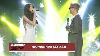 Nơi Tình Yêu Bắt Đầu - Hồ Ngọc Hà, Bùi Anh Tuấn   Christmas Live Concert (Official Video)