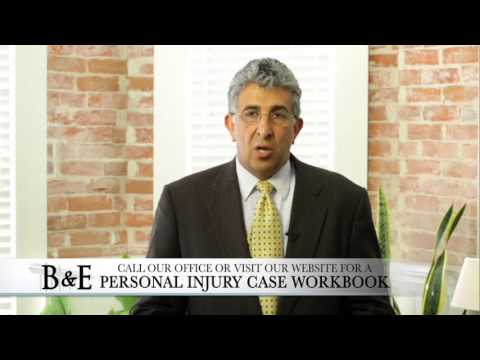Personal Injury Cases at Bamieh and Erickson Ventura Santa Barbara Oxnard Lawyers