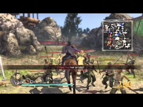 Dynasty Warriors 8 Xtreme Legends - Cao Cao Gives Out Detentions