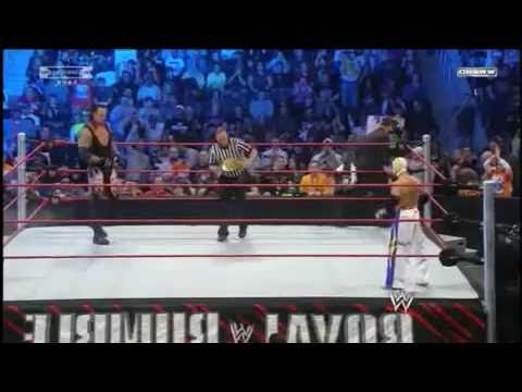 WWE Royal Rumble 2010 Rey Mysterio Vs Undertaker World Heavyweight Championship PART2/3