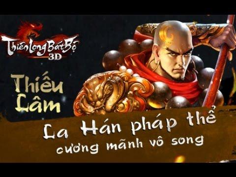 Thiên Long Bát Bộ 3D - Môn phái Thiếu Lâm