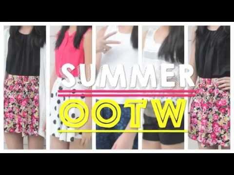 ♡ Summer OOTW: 5 Cute & Simple Styles + TIPS ♡   AlohaKatie