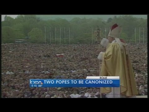 Millions descend on Rome for double-canonization