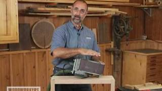 Woodworking Techniques: Power Tools Belt Sander Tips