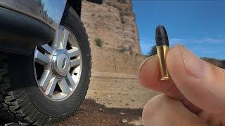 Will A .22 Go Through A Tire?