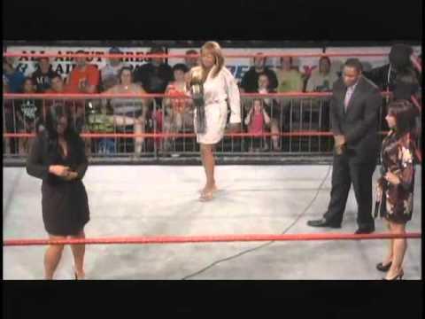 OVW - A bikini contest w/Trina, Lady JoJo and Taryn Shay.