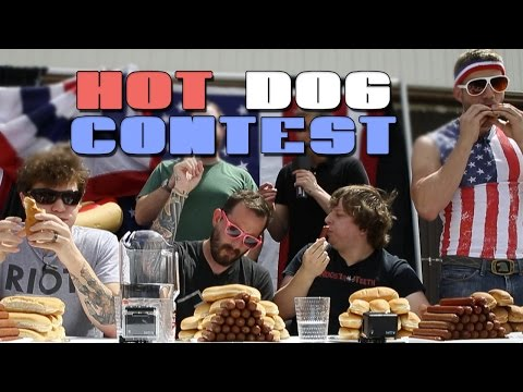 Jack and Joel's Hot Dog Eating Competition