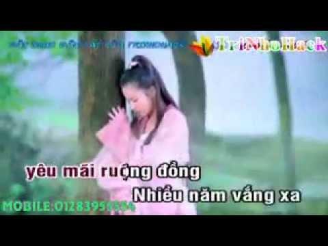 karaoke nhạc sống ) Hai Lua Ve Lang+ full