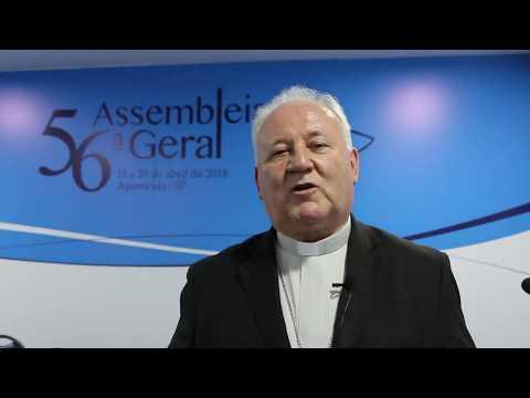 Dom Wilson Tadeu Jönck sobre o oitavo dia da 56ª Assembleia Geral da CNBB