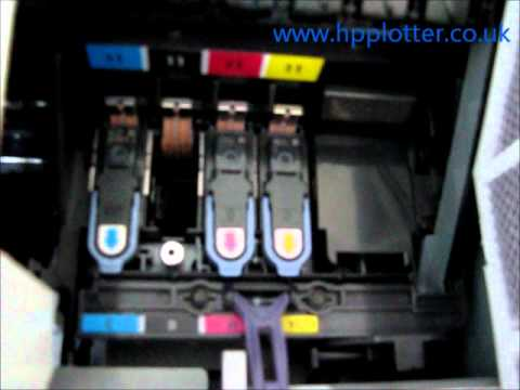 Designjet 100 - 130 Series - Printhead replacement on your printer