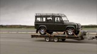 "Land Rover's ""Trailer Stability Assist"" For Range Rover"
