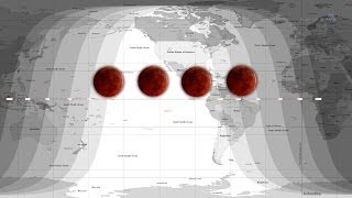 ScienceCasts: A Tetrad Of Lunar Eclipses