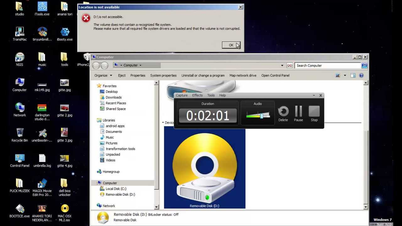 how to create a macosx bootable usb with transmac