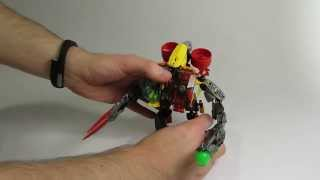 Video Set Review: Evo-Furno Combiner (Hero Factory 2014)
