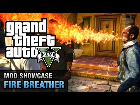 GTA 5 PC - Firebreather [Mod Showcase]