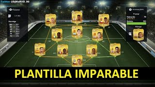 FIFA 15 PLANTILLA INVENCIBLE BARCLAYS Ultimate Team