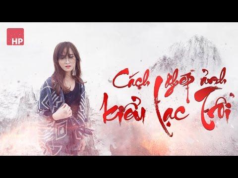 Ghép ảnh phong cách Lạc Trôi như Sơn Tùng MTP | HPphotoshop.com