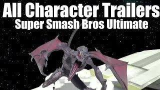 Super Smash Bros. Ultimate - ALL CHARACTER TRAILERS (Final Smashes) 12.06.18