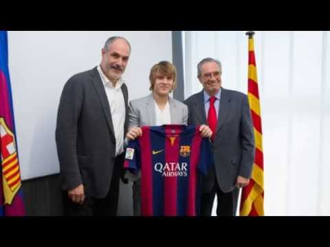 Alen halilovic new player of barcelona 2014 || Goals, Skills & Passes