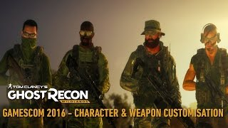 Tom Clancy's Ghost Recon Wildlands - Character & Weapon Customisation