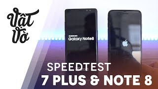 Hiệu năng Galaxy Note 8 & iPhone 7 Plus: kết quả bất ng�