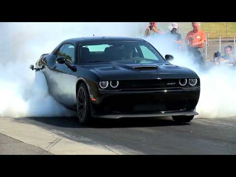Dodge Challenger Burn Out