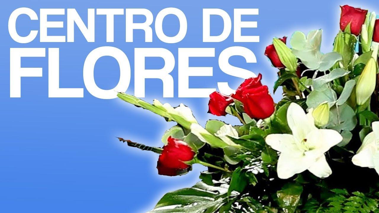 Centro de flores naturales cultura de flor sapeando - Como hacer un ramo de flores artificiales ...