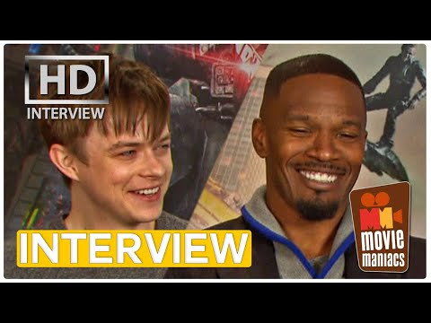 Amazing Spider-Man 2 | Villains Talk Jamie Foxx & Dane DeHaan INTERVIEW