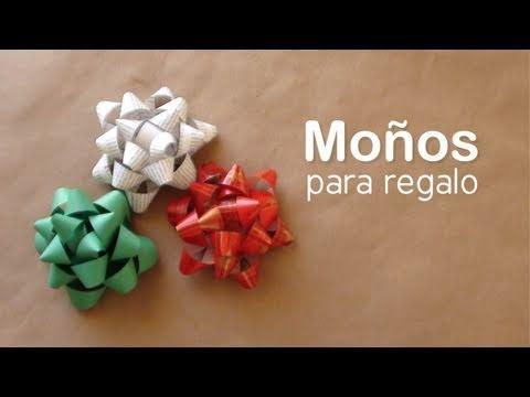 Como hacer un moño para regalo // DIY Gift bows