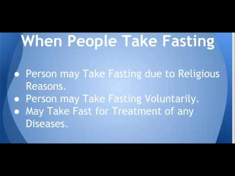 Fasting and Benefits of Fasting