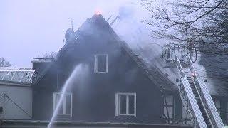 NRWspot.de | Feuerwehr im Einsatz – Ennepetal ehem. Fa. C.A. Bauer – Feuerwehr löscht Brand