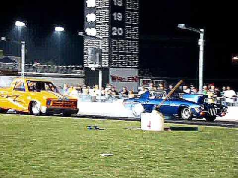 Friday Night Drag Racing Finals At Atlanta Motor Speedway