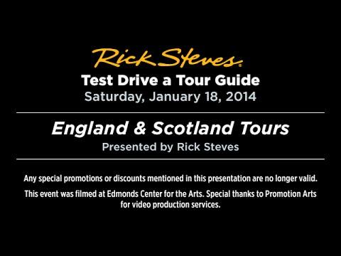 Test Drive a Tour Guide: England and Scotland