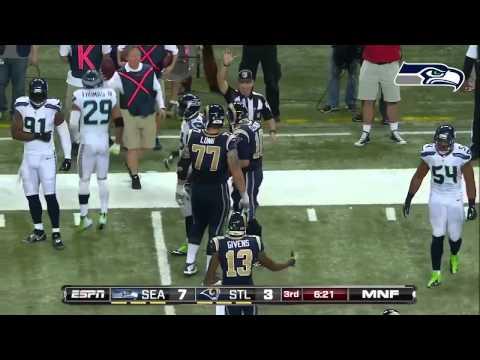 Seattle Seahawks Highlights vs STL(Week 8, 2013)