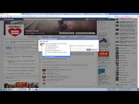 Hướng Dẫn Làm 2 Avatar Facbook khác nhau