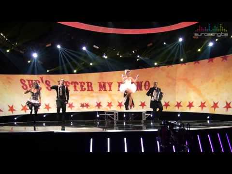 2 Fabiola feat Loredana - She's after my piano - Generale repetitie Eurosong 2014
