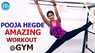 Actress Pooja Hegde's Exclusive Gym Workout Visuals