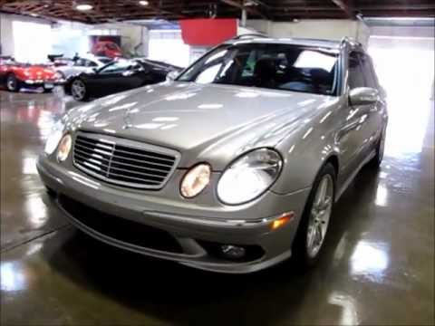 2006 mercedes benz e55 amg wagon for sale youtube for Mercedes benz e55 amg wagon for sale