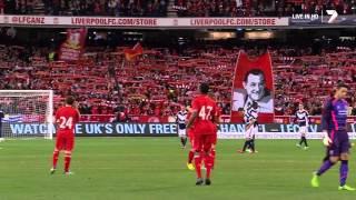 "Liverpool F.C. & 95,000 Australian Fans Sing ""You'll Never"