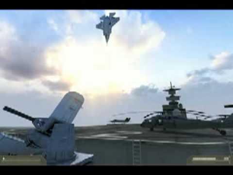 Airplane F 35Vertical Takeoff Flip