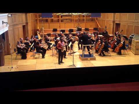 Concerto in Eb Major – Alexander Glazunov (Otis Murphy, 2012)