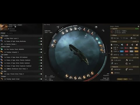 Tanking Drifter Super Weapon with a Paladin | EVE Online