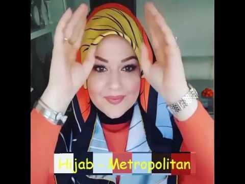 Cara Memakai Jilbab Untuk Wajah Bulat # 8