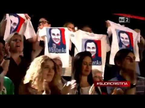 Freira SUOR CRISTINA(What a Feeling) The Voice Italia