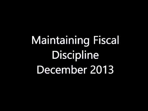 Maintaining Fiscal Discipline [Current Affairs December 2013]