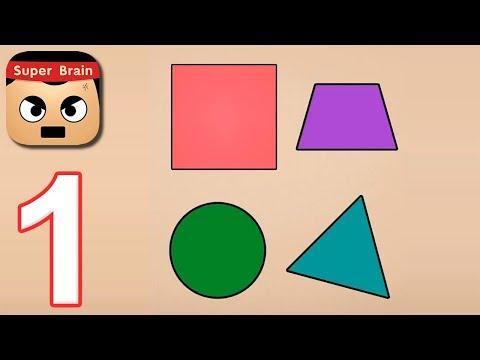 Super Brain - Funny Puzzle Level 1 2 3 4 5 6 7 8 9 10 Walkthrough