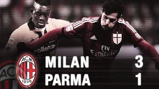 Milan-Parma 3-1 Highlights   AC Milan Official